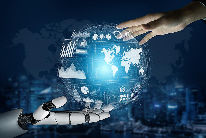 Futuristic-robot-technology-development