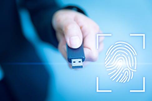 USB-Key-Lock-Access-with-Fingerprint-Biometrics-Scanner