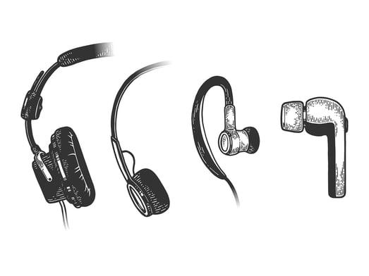 headphone-evolution-sketch-line-art