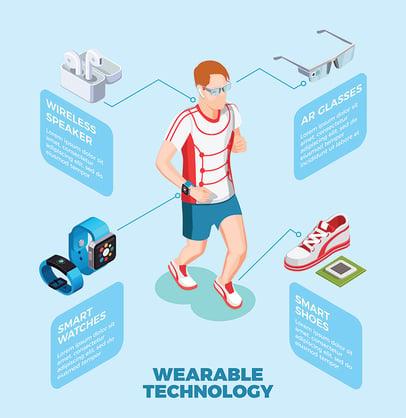 jogging-man-wearing-smart-shoes-watch-ar-glasses-wireless-speaker