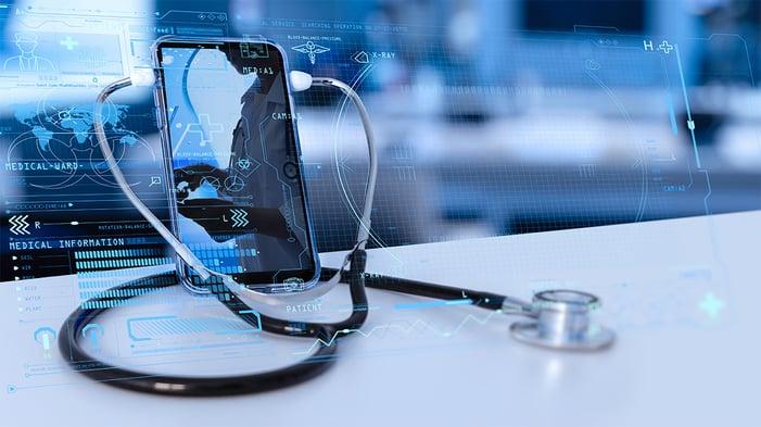 medical-doctor-online-communicating-on-VR-medical-interface